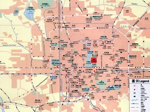 Beijing Tourist Attractions Map